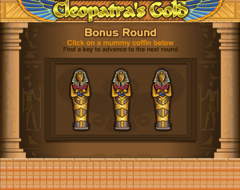 cleopatras gold slots at Bovada Casino